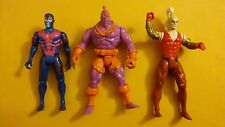 Vintage ToyBiz Marvel Comics Uncanny X-men X-FORCE ARCHANGEL KRULE GIDEON LOT
