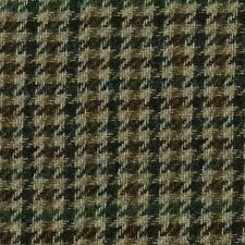 Sand, Brown & Green Dogtooth Check Tweed - 2.50 Mtrs