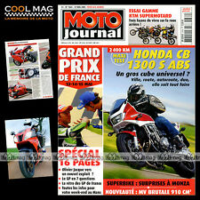 MOTO JOURNAL N°1664 KTM 640 DUKE 2 SUPERMOTARD LC4 SUPERMOTO 660 SMC MOTOGP 2005