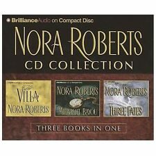 Nora Roberts CD Collection 1 : The Villa, Midnight Bayou, Three Fates by Nora...
