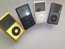 iPod 160 GB Apple Classic 7th Gen Black Gold Silver Space Grey (160 GB) - MINT