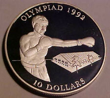 1992 Summer Olympics ~Barcelona Spain ~Solomon Islands ~Sterling Silver Proof***