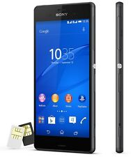 New Sony XPERIA Z3 Dual D6633 Quad 20.7MP 4G (FACTORY UNLOCKED) 16GB Black Phone