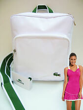 LACOSTE Backpack  Rucksack Bag  White Casual 2.12 **