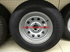 "15"" 5on5 BP RADIAL Trailer Rim / LoadStar Tire Assembly Silver Mod 205/75R15"