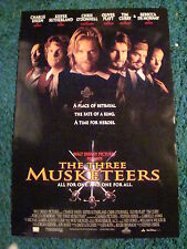 THE THREE MUSKETEERS - MOVIE POSTER WITH KIEFER SUTHERLAND & CHARLIE SHEEN