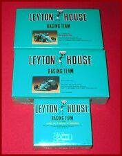 3 Leyton House Racing F-3 Ralt RT-31 - Lola T-87C F-3000 - F-1 March Model Kit