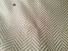 "4yd COWTAN & TOUT ""Hardwick"" Old Blue Woven Chevron Fabric F3925-04 $1300 Retail"