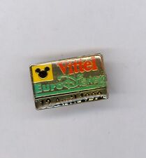 1992 Euro Disney Paris Disneyland Sponsor Vittel Mickey Mouse Icon Ears Mini Pin