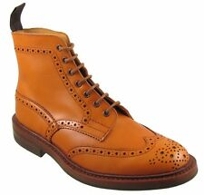 PRICE DOWN TRICKER'S MEN'S STOW BROGUE BOOTS IN MINT CONDITION US8
