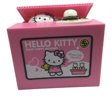 Fantastic Christmas Gift Hello Kitty Coin Piggy Bank Money Box KT Cat Coin Bank