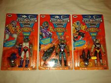 Biker mice Astro Bro's Pistone, Sterzo, Turbo - Modo, Throttle, Vinnie set