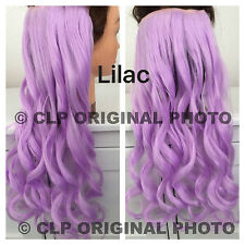 CLIP IN hair extension. FULL HEAD, Curly, 5 clip, Synthetic, like REAL HAIR