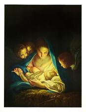 Carlo Maratta Poster Kunstdruck Bild Die heilige Nacht 83x63 Kostenloser Versand
