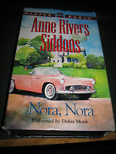 Nora, Nora by Anne Rivers Siddons (2000, Cassette, Abridged)