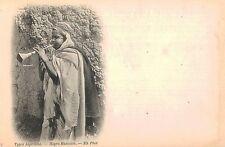 """Algeria,No.Africa,""""Negro Musicien"""",Arab Ethnic,""""Types Algeriens"""",c.1901-06"""