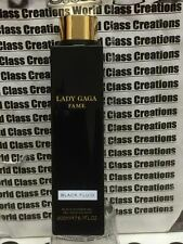 LADY GAGA FAME BLACK FLUID FOR WOMEN - 6.7 OZ/200 ML BLACK SHOWER GEL - NO BOX