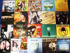 21 LPs Rock Pop 80er: Bee Gees Chicago Bryan Ferry Alphaville Bangles Vangelis..