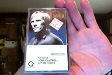 John Campbell- After Hours- new/sealed cassette tape- Contemporary label