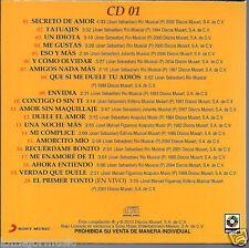 ultra rare CD 80's Joan Sebastian SECRETO DE AMOR tatuajes UN IDIOTA me gustas