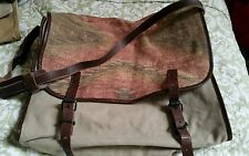 Ralph Lauren -  Denim & Supply -  Santa Fe -  Aztec - Canvas Messenger Bag - NWT