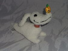 NUOVO Disney The Nightmare Before Christmas Giocattolo Morbido Peluche ZERO MINI Bean Bag Dog