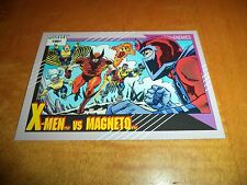 X-Men vs. Magneto # 125 - 1991 Marvel Universe Series 2 Impel Base Card