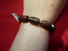 Coffe Bean Jasper Bracelet (Stretchable) - 7 inches - 194.00 Carats