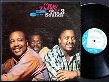 THREE 3 SOUNDS Hey There! LP BLUE NOTE 4102 US 1961 NY RVG EAR ST Gene Harris