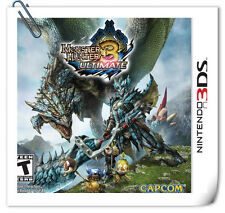 3DS Nintendo MONSTER HUNTER 3 ULTIMATE Action Capcom