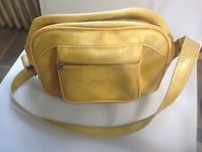 Vintage American Tourister Escort /Overnight / Carry On Travel Bag, Yellow 1970s