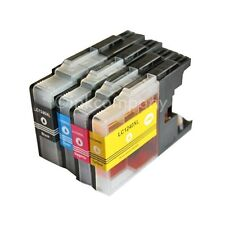 4 CARTUCCE BROTHER lc1240 XL PER DCP j525w j725dw j925dw MFC j430w j5910dw