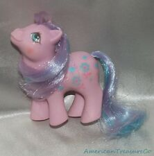 Rare Vintage 1984 G1 MY LITTLE PONY LOVING FAMILY Purple BABY BRIGHT BOUQUET