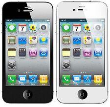 White Trim Anti-glare Matte Screen Protector for Apple iPhone 4/4S