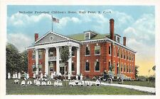 A6/ High Point North Carolina NC Postcard c1915 Methodist Prot. Children's Home
