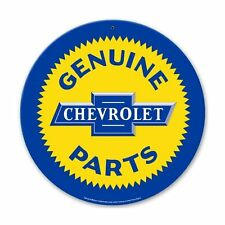 Original GM Chevy Chevrolet Genuine Parts Retro Vintage Sign Blechschild Schild