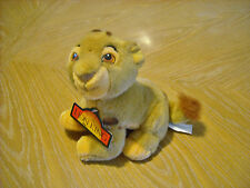 "Vintage Disney Store 8"" Plush The Lion King Baby Simba Lion Cub 1994"