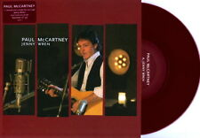 "PAUL McCARTNEY JENNY WREN 7"" COLORED RED VINYL EU LIMITED EDITION NEW Beatles"