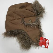 $40 The North Face Heli Hoser Hat Size S-M - Brown - NEW
