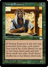 VETERAN EXPLORER Weatherlight MTG Green Creature — Human Soldier Scout Unc