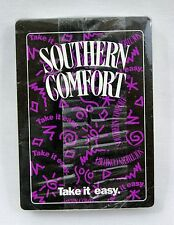 """Vintage Southern Comfort """"Take It Easy"""" Playing Cards SEALED"""