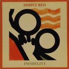 "SIMPLY RED 'INFIDELITY' UK PICTURE SLEEVE 7"" SINGLE #2"