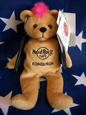 HRC Hard Rock Cafe Edinburgh Punk Bear Mohawk 2009 Pink Hair Herrington