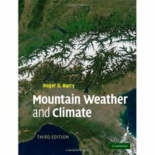 Mountain Weather Climate 3e Roger G. Barry Hardcover 9780521862950 Cond=LN:NSD