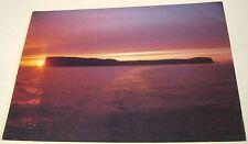 Scotland Sunset Island of Staffa NTS - posted