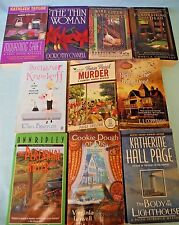 Lot of 10 PB Cozy Mysteries BYERRUM Lowell COPPERMAN Connolly HALE Shelton &More