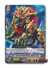 Cardfight Vanguard  x 4 Sacred Twin Beast, Black Lion - BT14/057 - C Mint