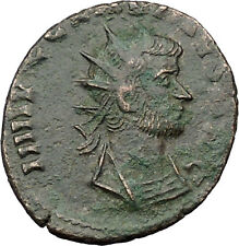 Claudius II  Ancient Roman Coin Magic wand of forethought Goddess i31448