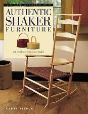 Authentic Shaker Furniture: 10 Projects You Can Build (Classic America-ExLibrary