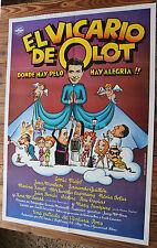 Used - Cartel de Cine  EL VICARIO DE OLOT  Vintage Movie Film Poster